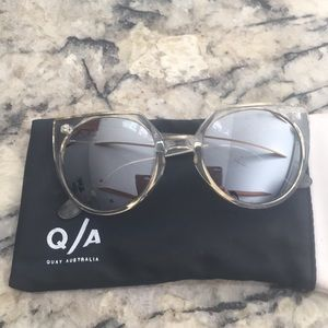 Quay Australia Give and Take Round Sunnies